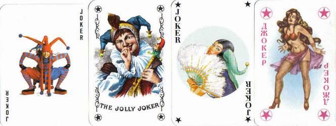 Spielkarte Joker