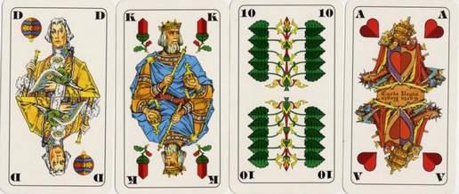 Deutsche Skatkarten