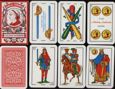 Alta Carta Playing Cards: Latin Suits (5) Italian and Spanish Suits