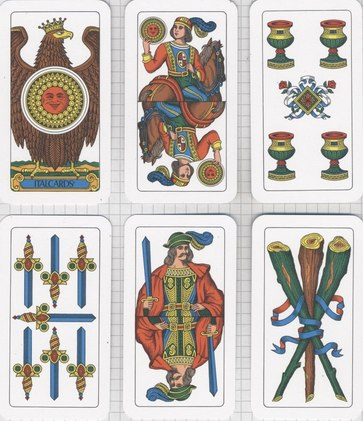 spanish card suits