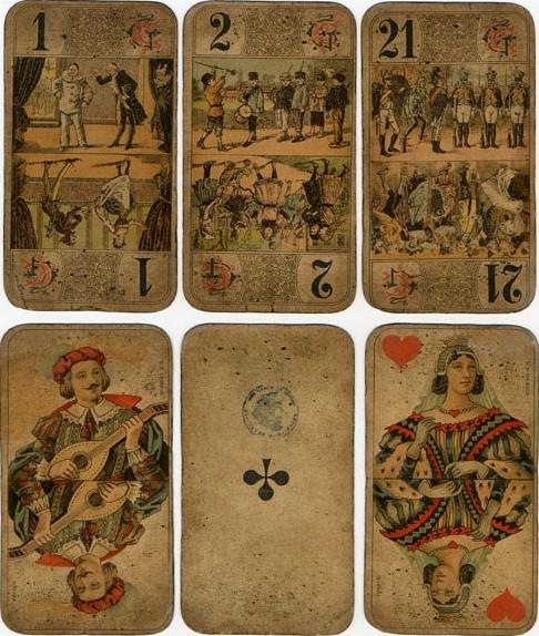 ANTIQUE TAROT CARDS FOR SALE